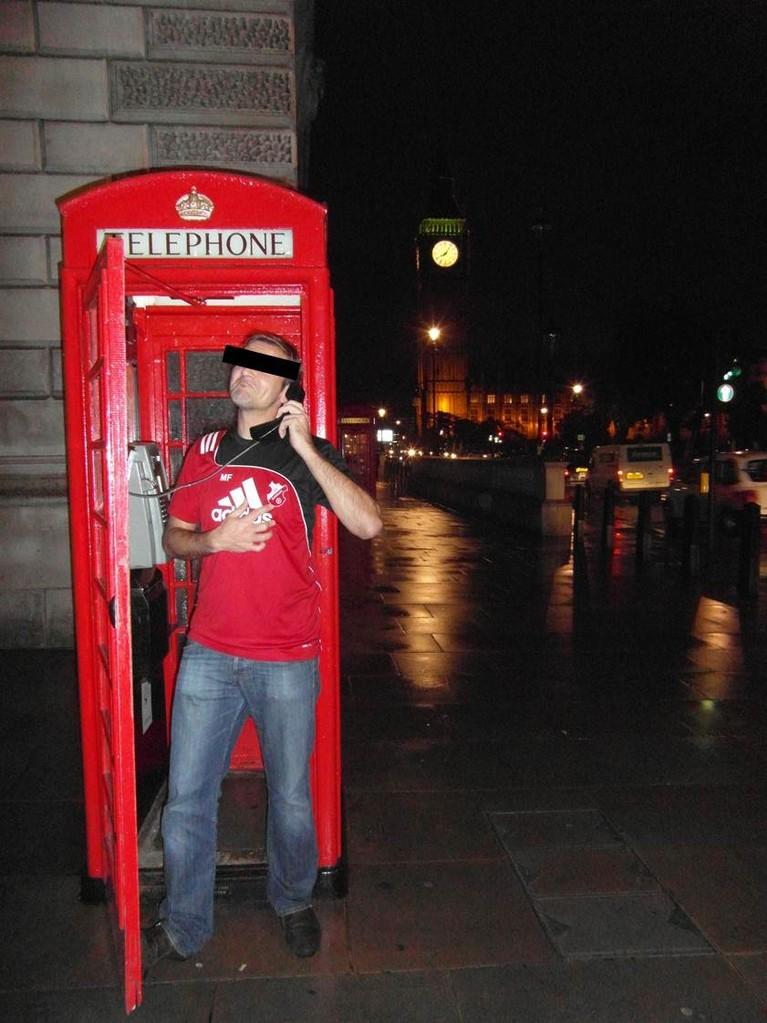 """London calling..."""