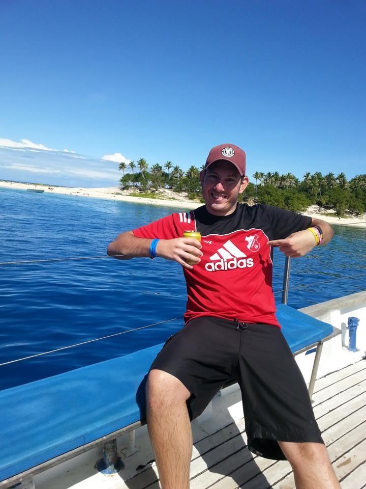 Castaway Island (hier wurde auch der gleichnamige Film gedreht) auf den Fidschis