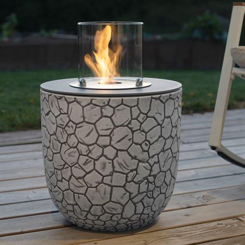 Vigo von muenkel design - Mosaik weiß-grau