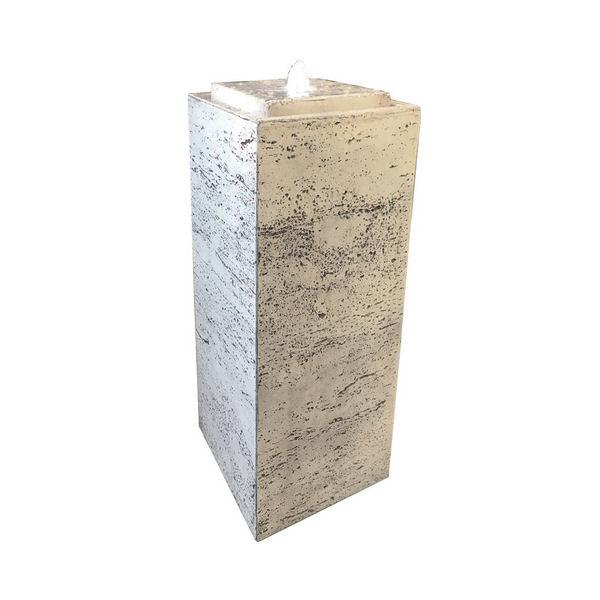 Brunnen Pillar Fi-Beton weiß