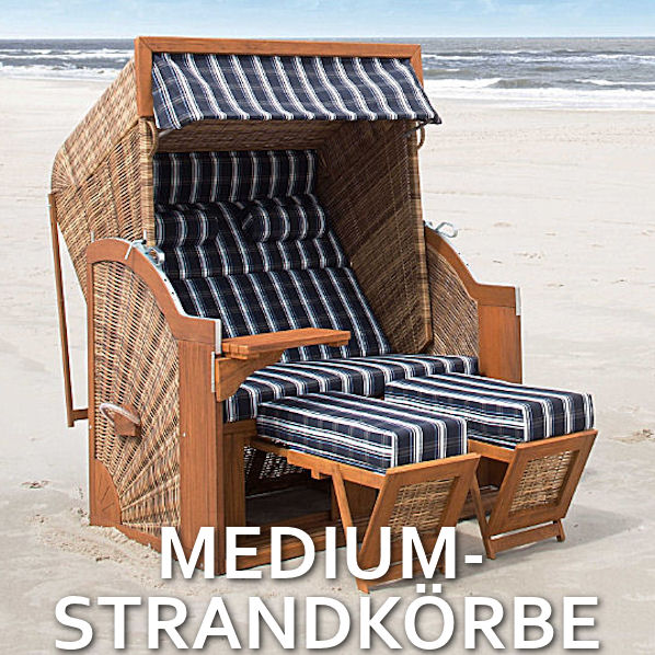 Medium Strandkörbe
