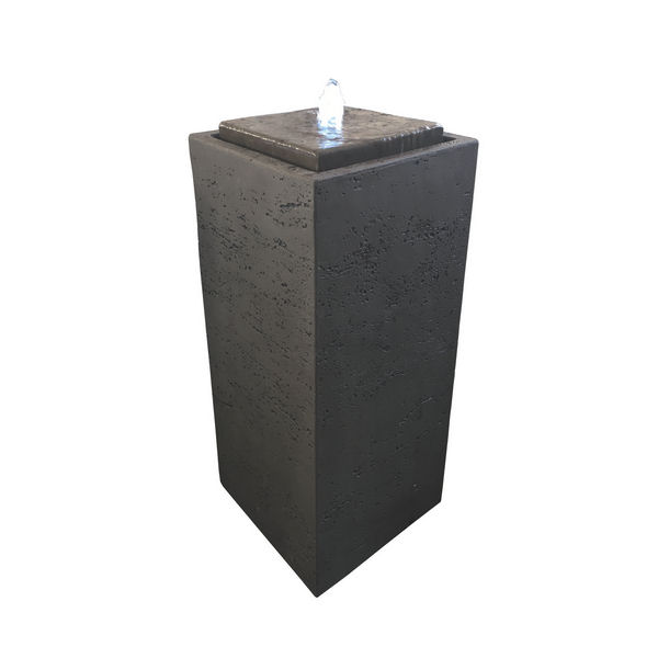 Brunnen Pillar Fi-Beton braun