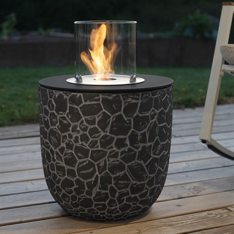 Vigo von muenkel design - Mosaik schwarz-grau