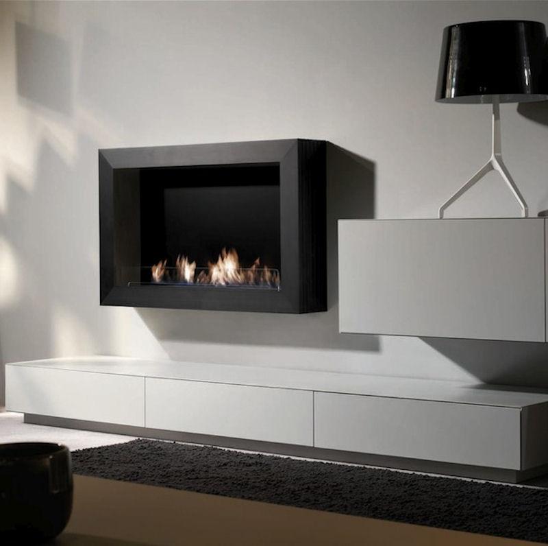Atri Wall Aluminium schwarz von Xaralyn