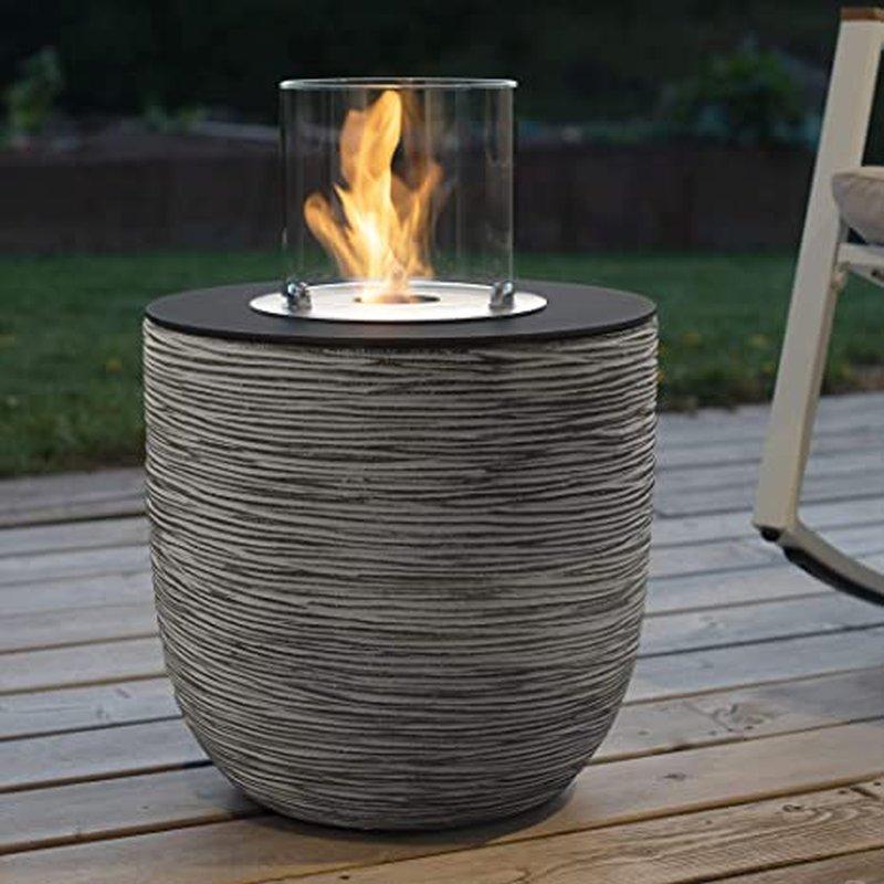 Vigo von muenkel design - Riffelung schwarz-grau