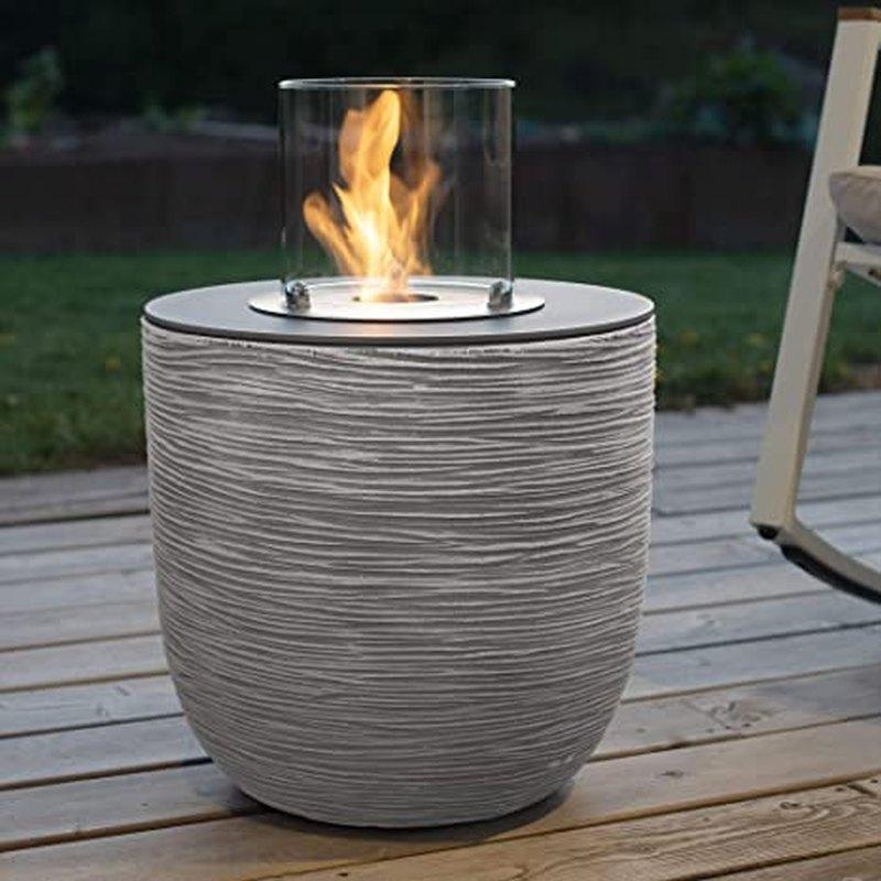 Vigo von muenkel design - Riffelung weiß-grau