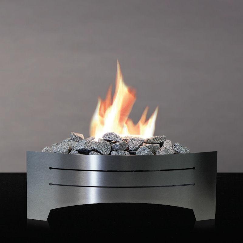 Brennbox FireKit  Edelstahl von Alfra