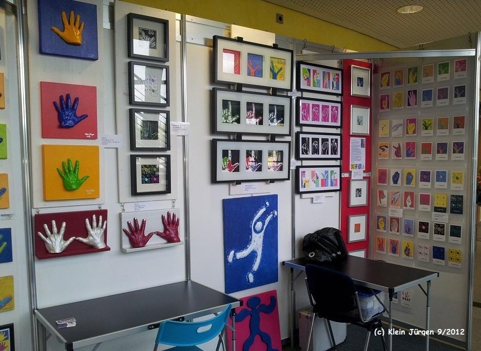 Kunstausstellung in Erfurt 2012