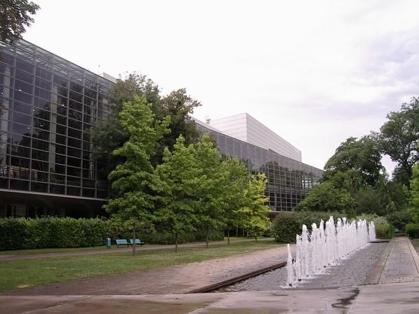 Centre des congres in Reims/France 2009