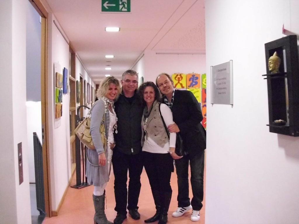 Claudia Krämer,Stefan Kärcher,Birgit Lahr und Klein Jürgen