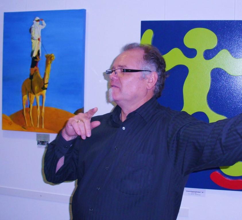 Schauspieler und Künstler Roland Kühnlein