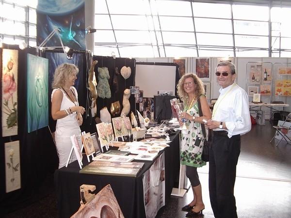 Künstlerin Claudia Krämer - Ausstellung