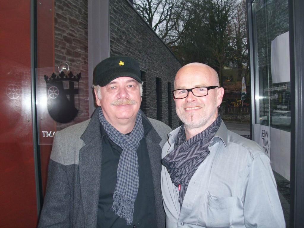 Comicstar Georg Demes und Künstler Robert Bisl