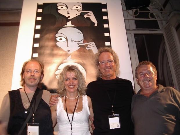 Klein Jürgen, Claudia Krämer, Manfred Mertz und Josef