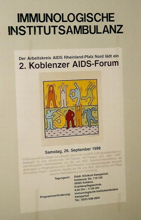 Plakat - im Kemperhof Klinik - Koblenz