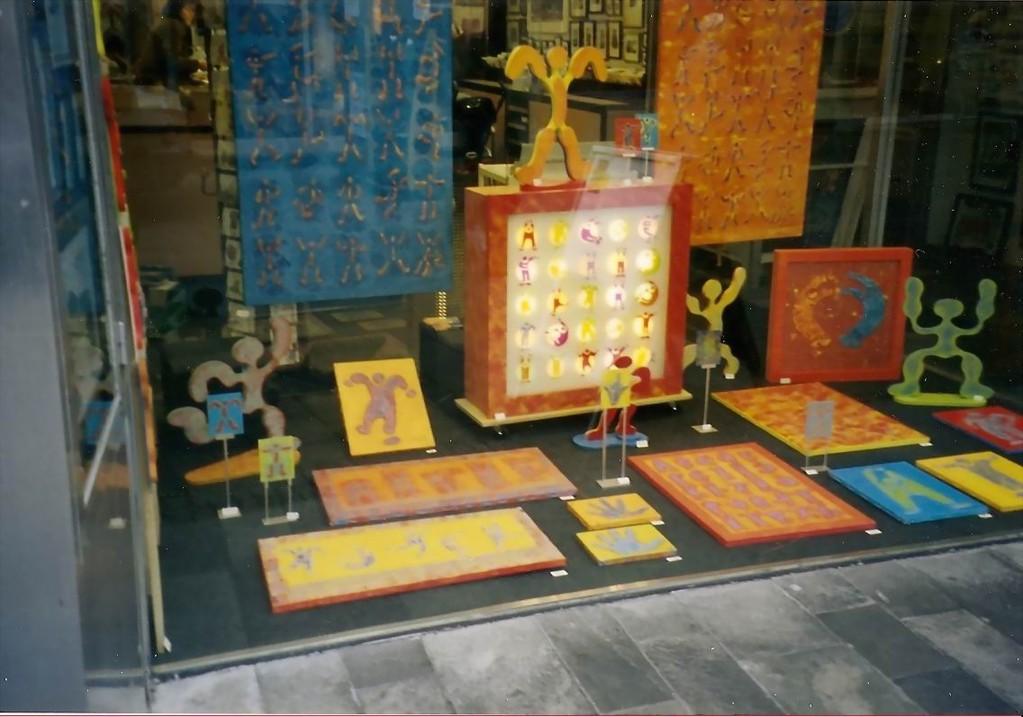 Galerie Kaschenbach am Schaufenster