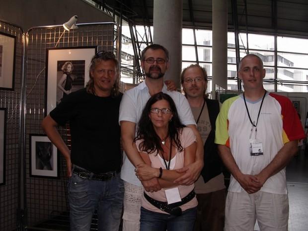 Künstler Hubertus Edinger,Künstlerpaar Dieter Lorenz und Sabine Ledwig