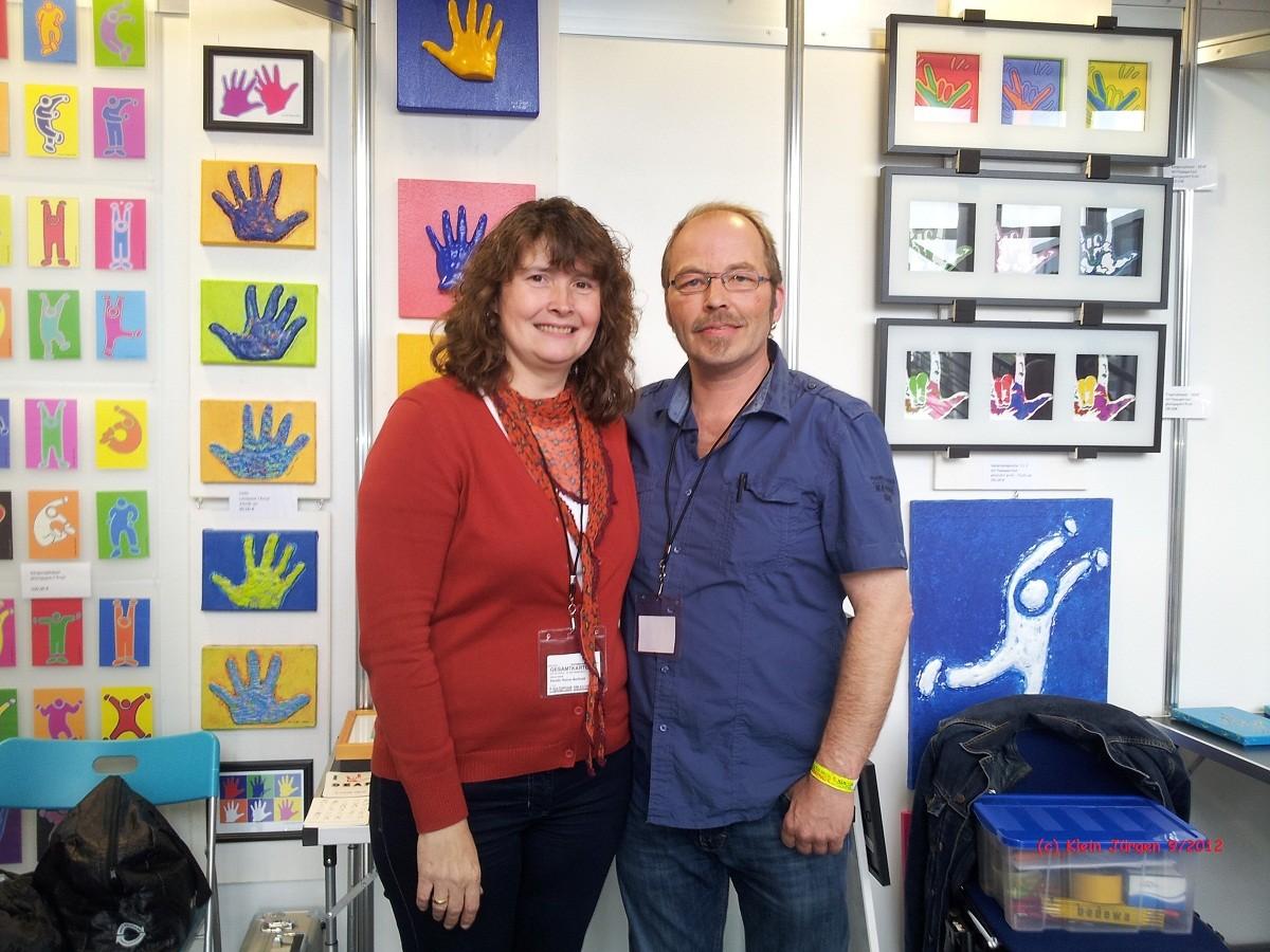 mit Kerstin Reiner-Berthold vom DGZ
