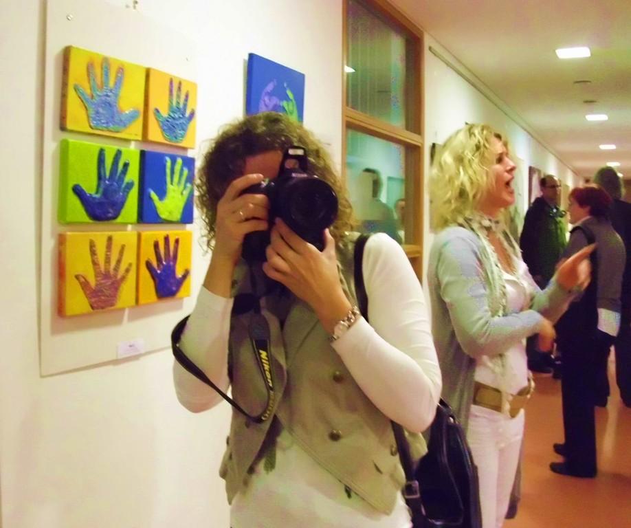 Künstlerin Birgit Lahr