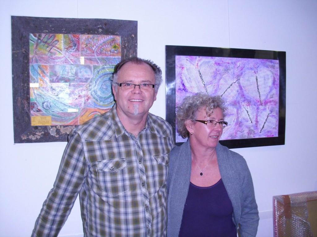 Künstlerpaar Roland Kühnlein und Susanna Weber Kühnlein