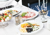 Menü-Bringdienst für Veranstaltungen