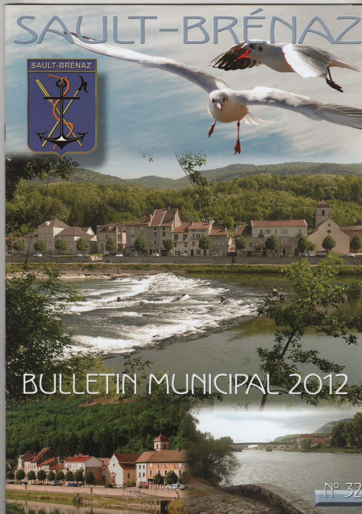 Couverture du bulletin municipal 2012-2013