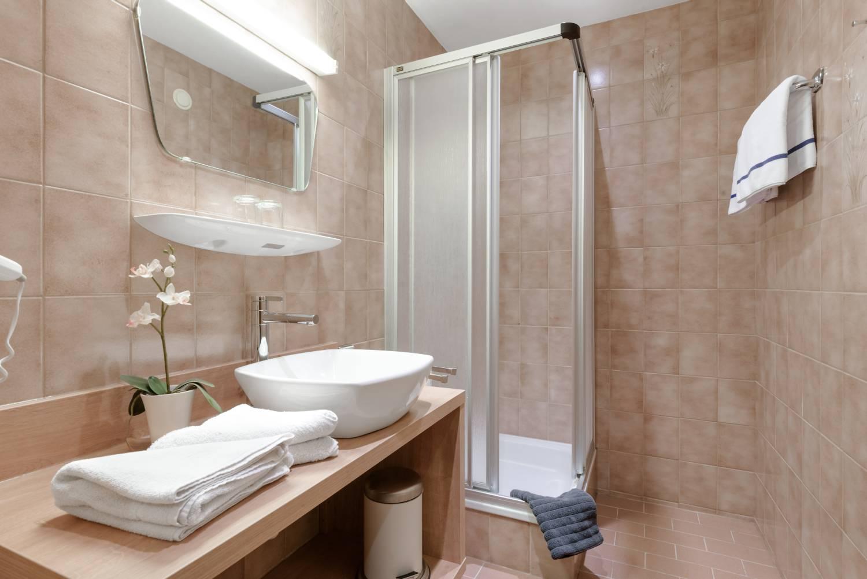 Familienappartement Badezimmer