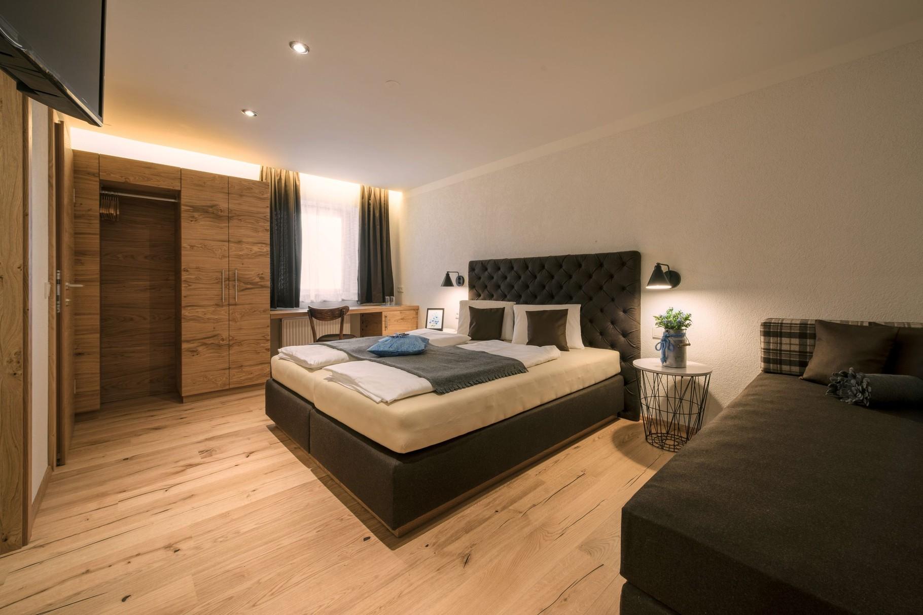 Schlafzimmer Vergissmeinnicht Suite Typ B - Vergissmeinnicht  Flachau