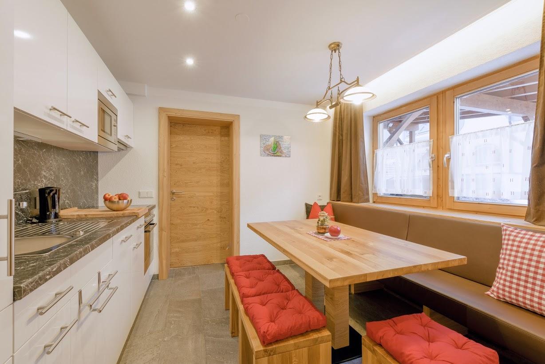 Küche - Luxus-Ferienwohnung Flachau