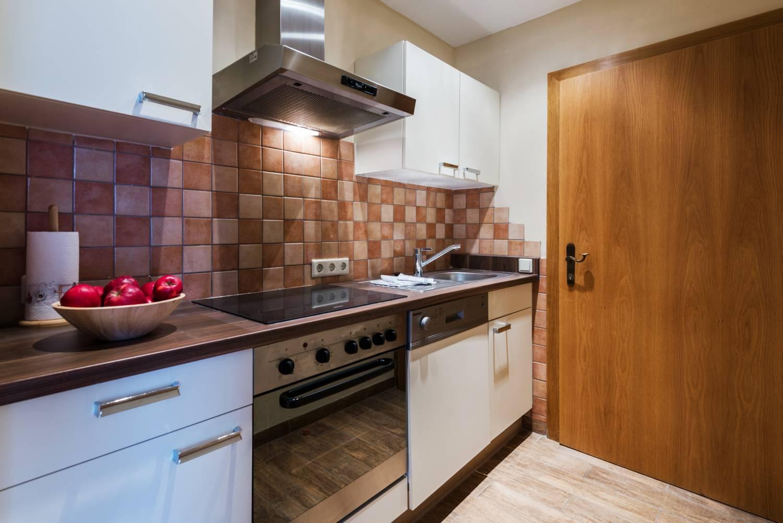 Familienappartement Küche