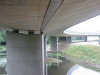 Unterbau Lautrupsbachtalbrücke