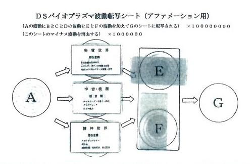 DSバイオプラズマ波動転写