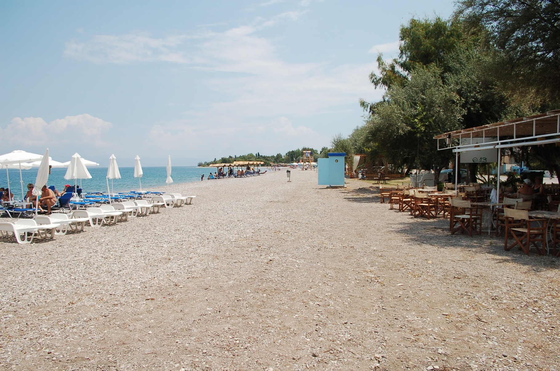 Strand von Eleonas (7km entfernt)
