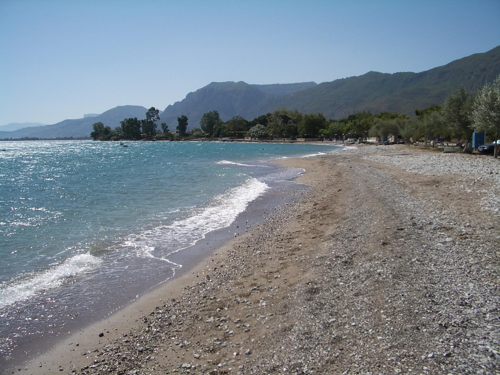 Strand von Rodia (6km vom Haus)