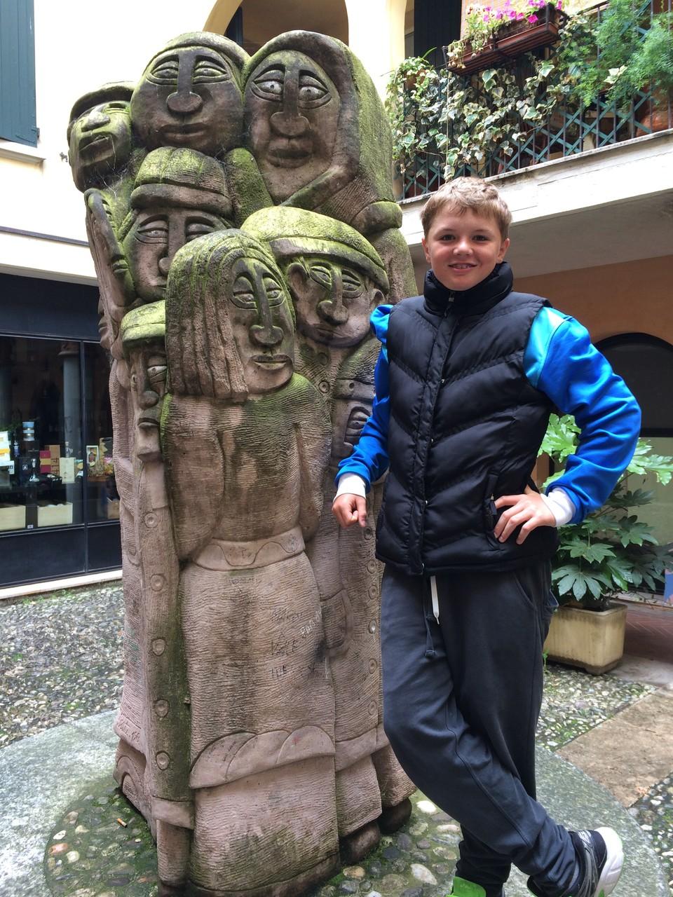 Es gab viel zu sehen in Correggio