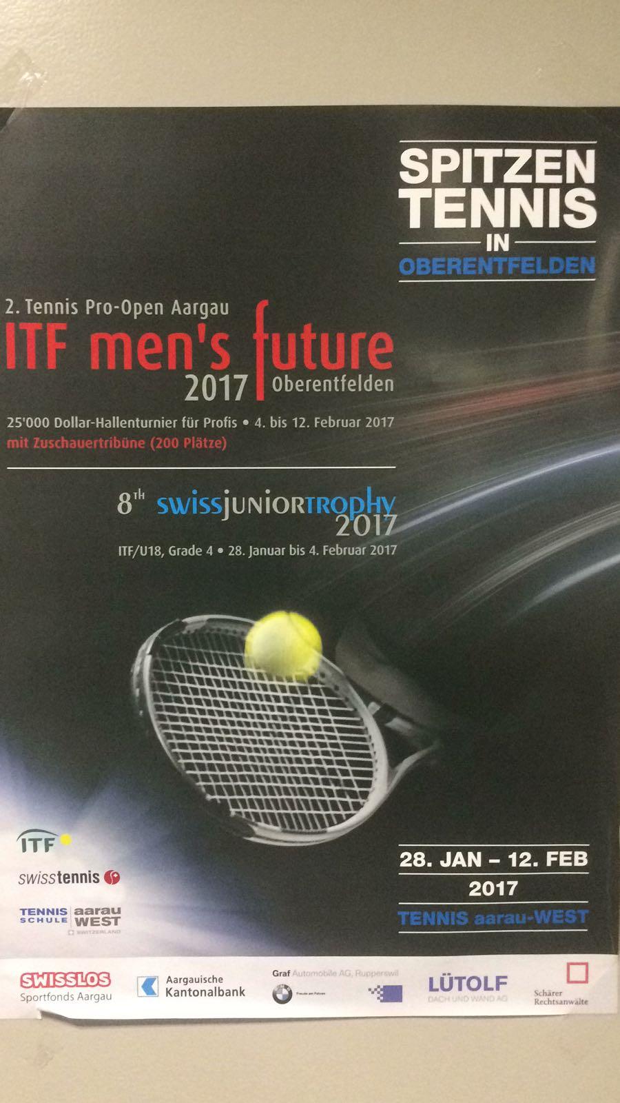 Grösstes ITF Turnier U18 der Schweiz