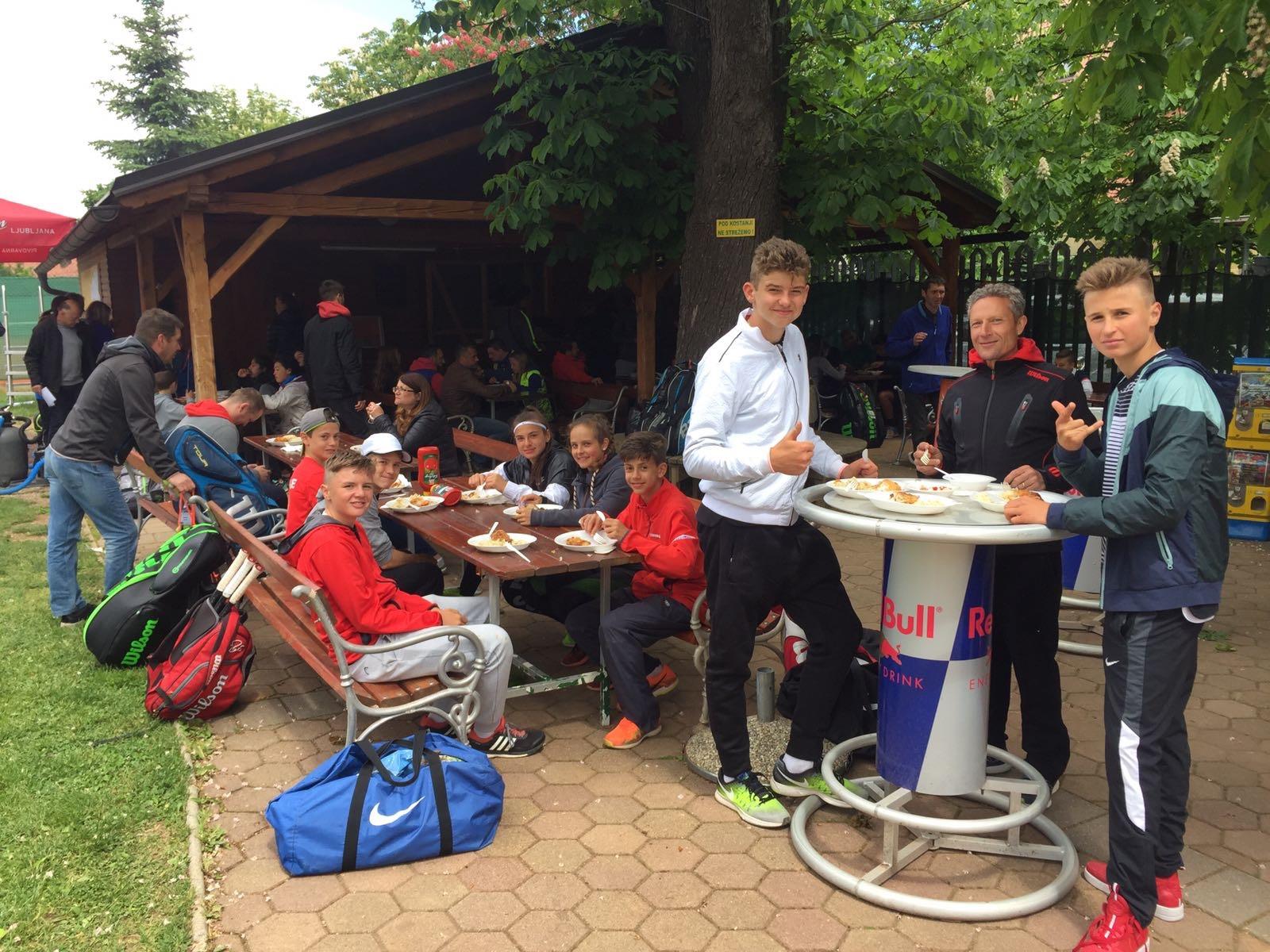 Nach dem ersten Training mit dem Schweizer Team