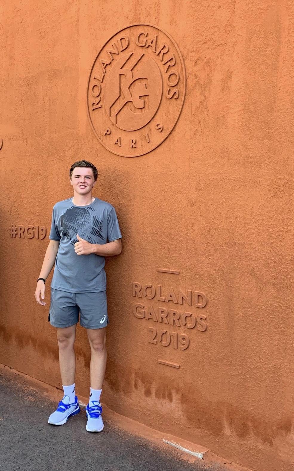 Ich war / bin ein Teil von Roland Garros 2019.