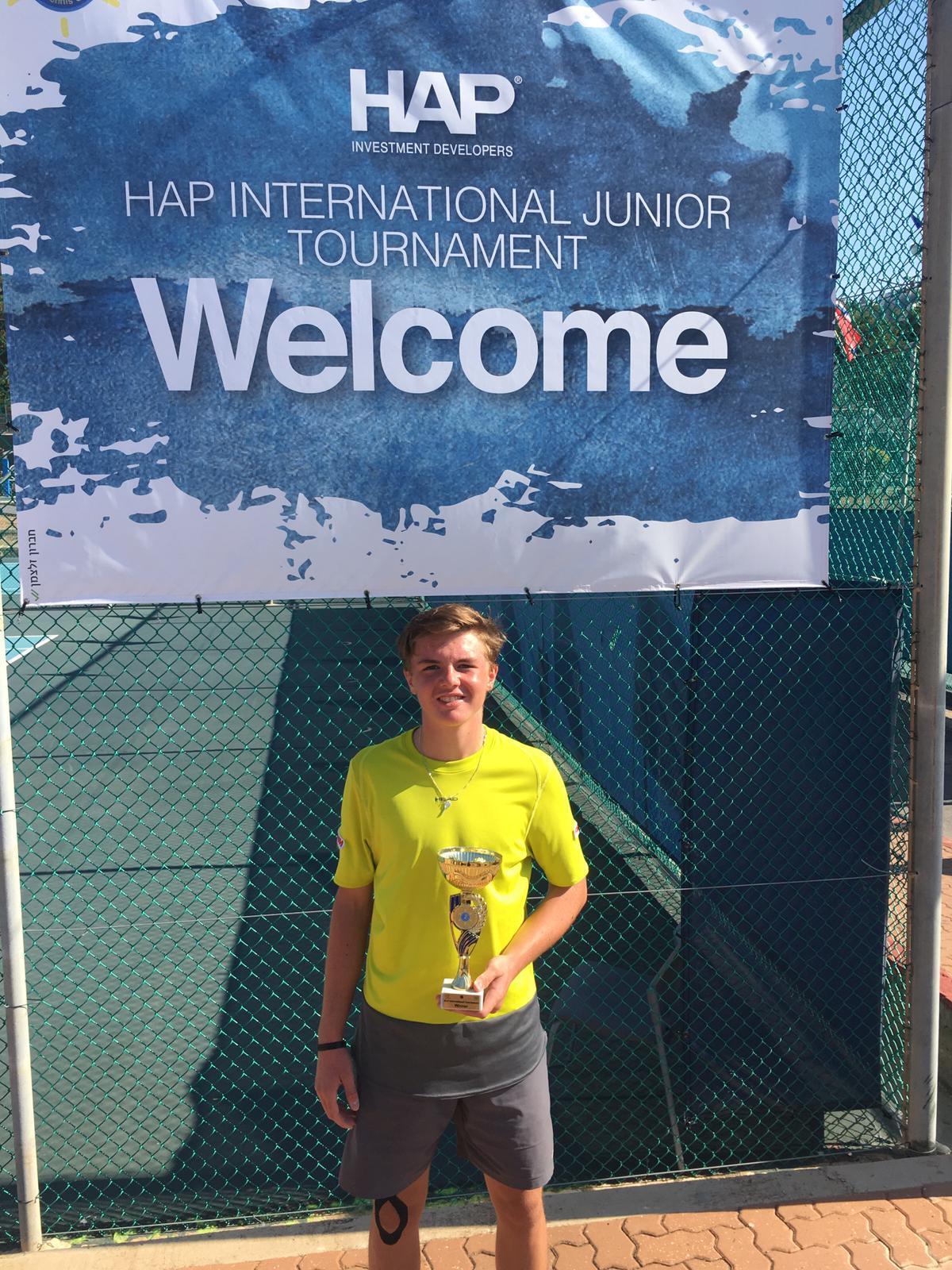 Dominics grösster Erfolg, Grade 2 Gewinner in Israel