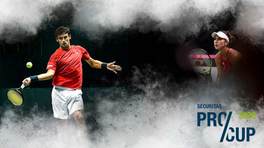 Pro Cup Biel 2020, Die besten Damen und Herren des schweizer Tennis