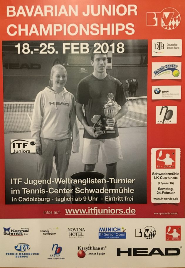 Das renomierte Turnier in Cadolzburg. Plakate hingen überall.