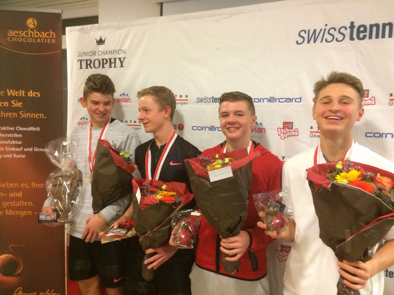 Alle vier Medaillengewinner