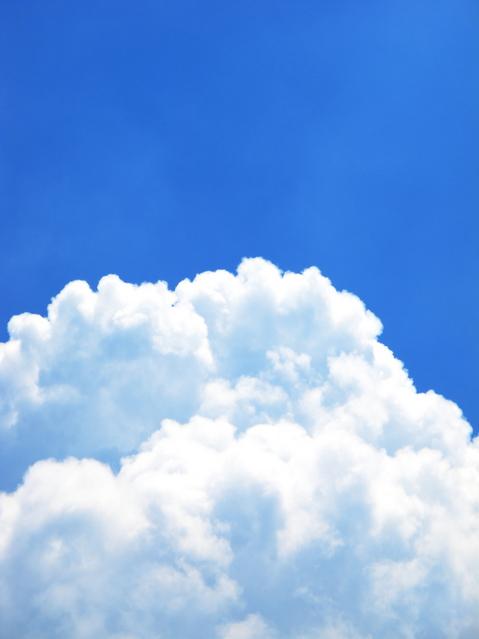 夏の雲の写真