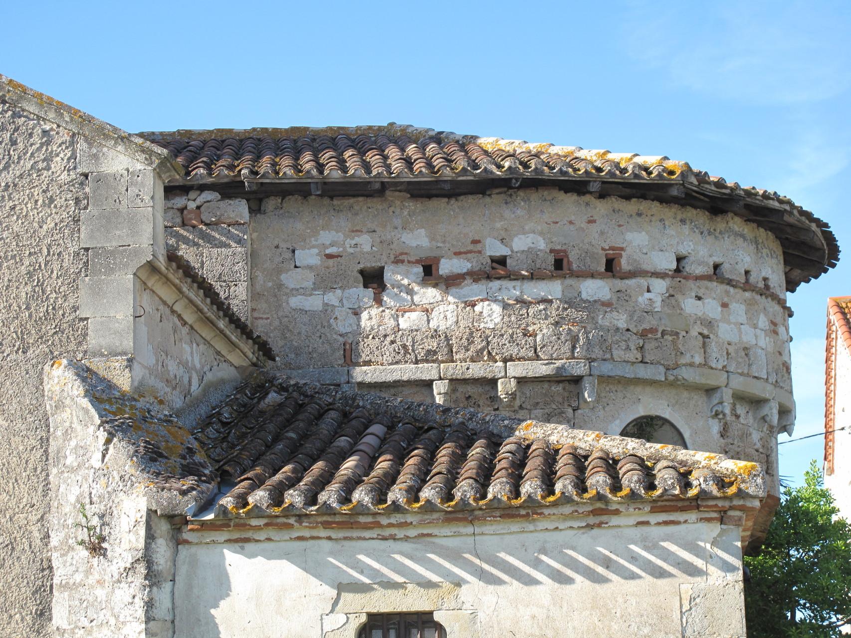 Villeneuve-sur-Lot : église de la Grâce (chevet)