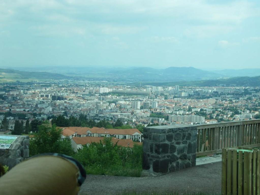 Une vue de Clermont-Ferrand