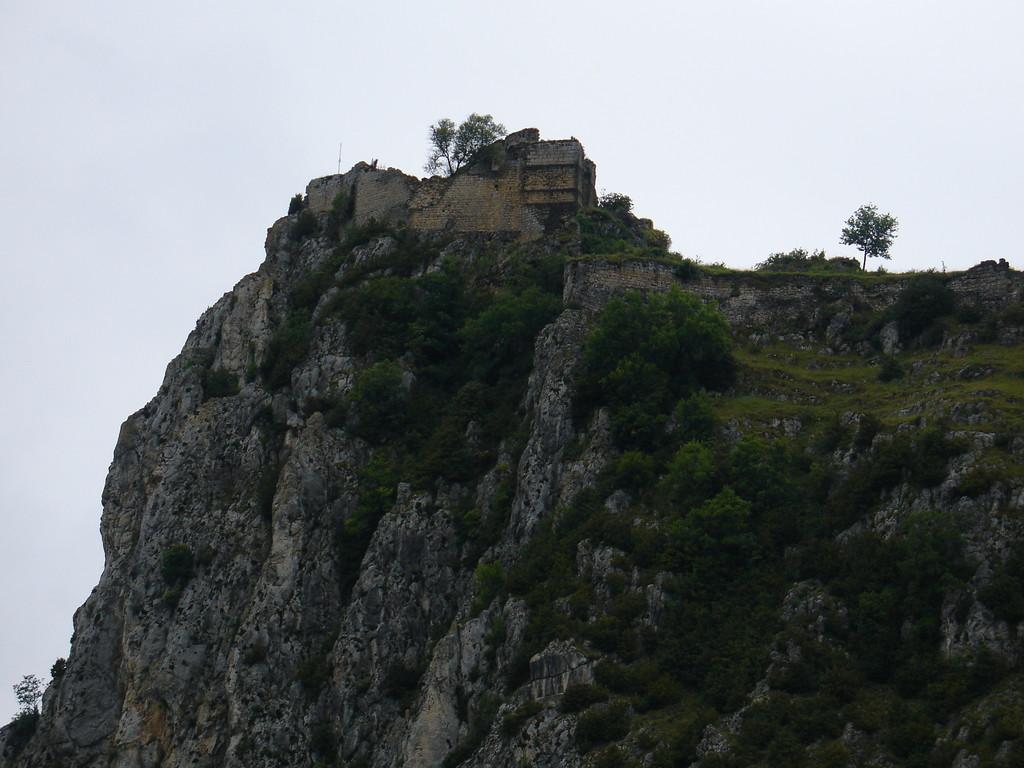 Roquefixade : le château sur son piton abrupt