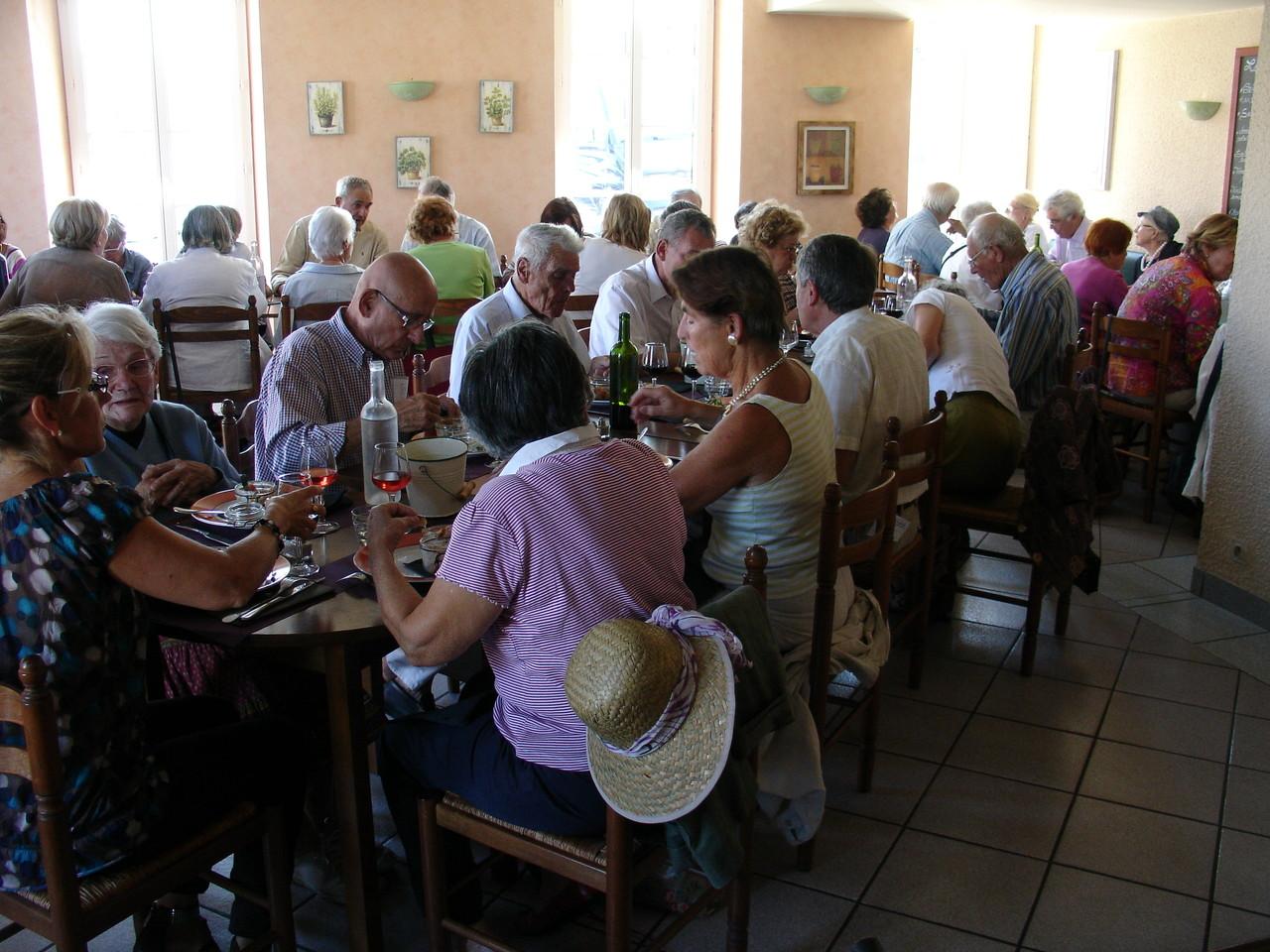 La Sauve : le Restaurant de l'Abbaye