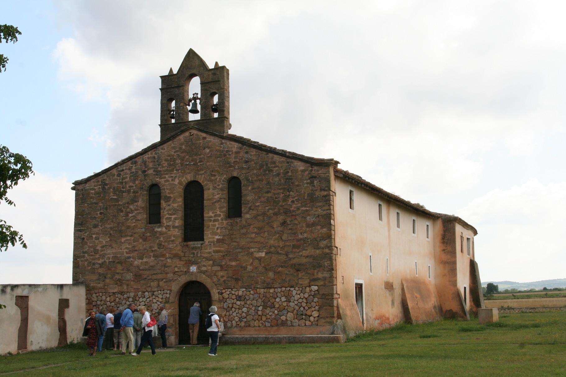 Tricio: l'église Santa Maria de Arcos
