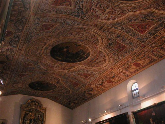 Marmande : le plafond de la chapelle Saint-Benoit