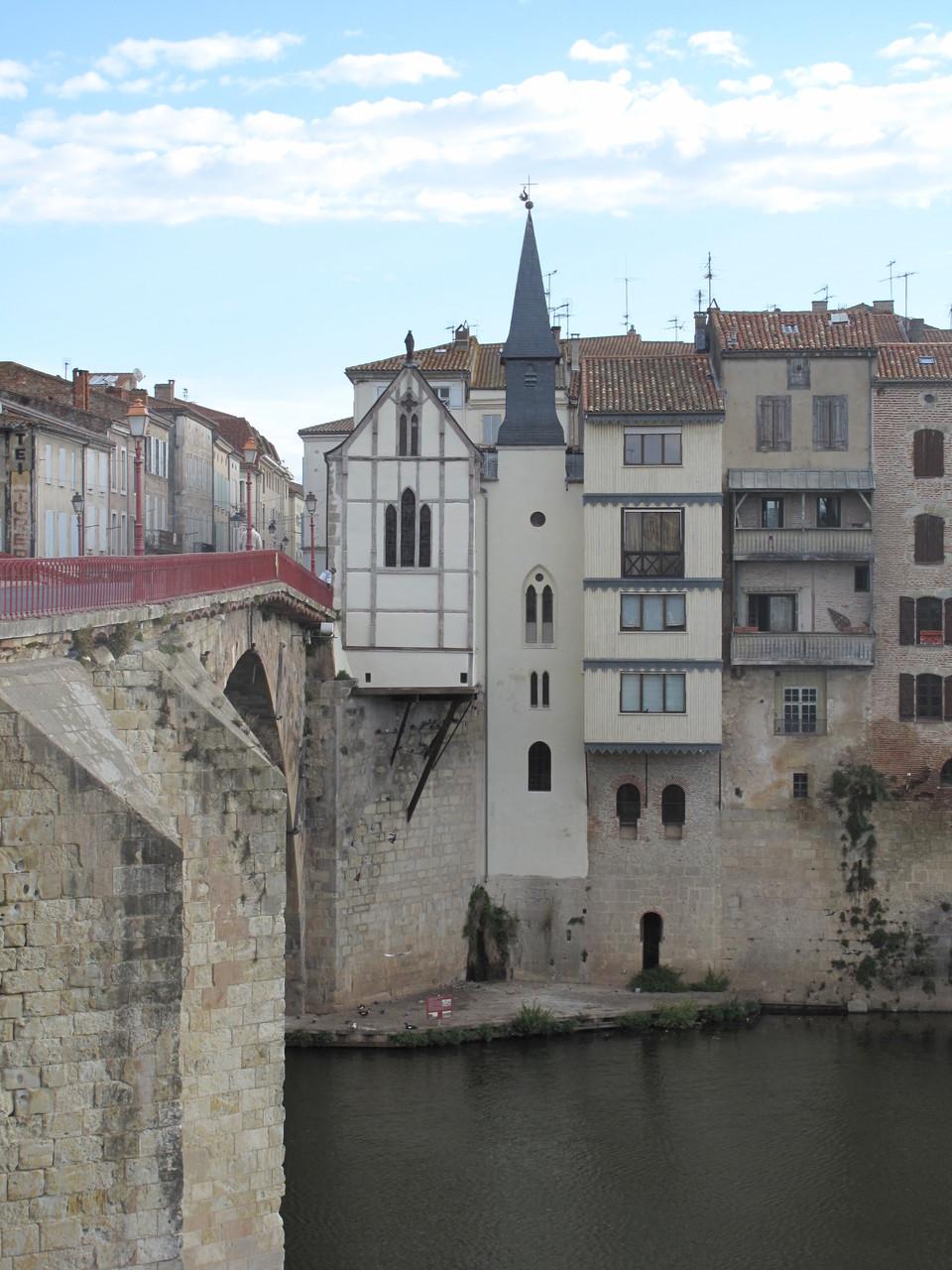 Villeneuve-sur-Lot : la chapelle du Bout du pont